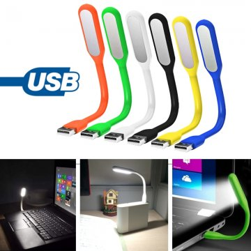 Ohybná LED lampička do USB