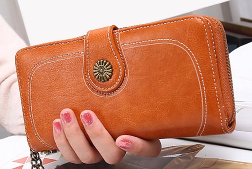 Valentino - Hnedá dámska peňaženka  a7143fae45d